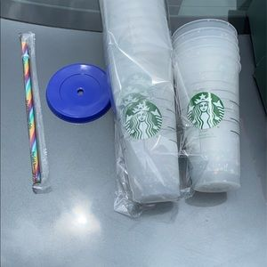 Starbucks confetti color changing cups